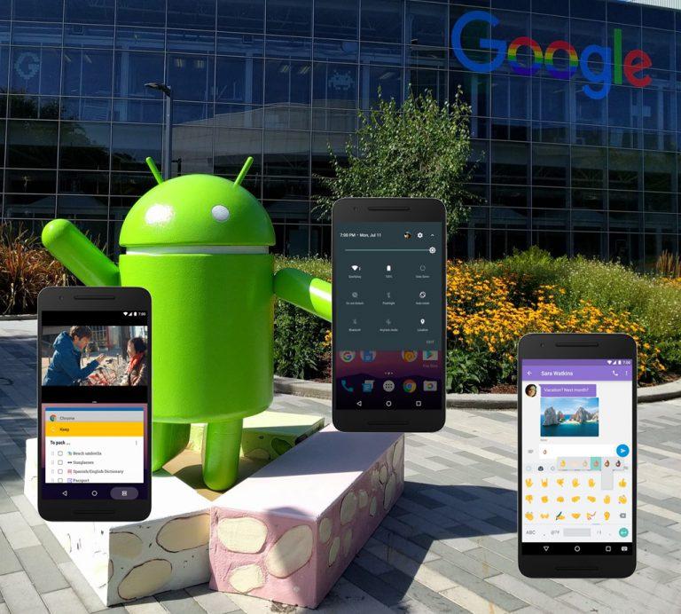 Resmi Bergulir, Nexus Device dan LG V20 Jadi yang Pertama Disambangi Android 7.0 Nougat