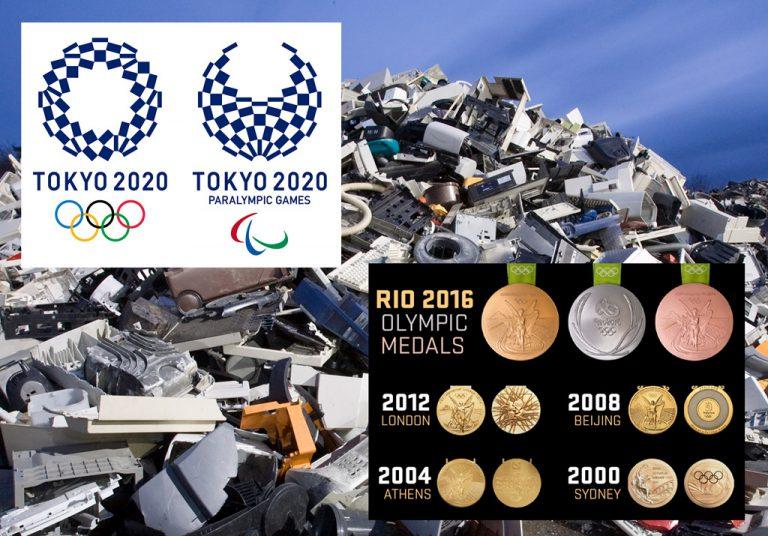Jepang akan Daur Ulang Kompenen Elektronik untuk Membuat Medali Olimpiade Tokyo 2020