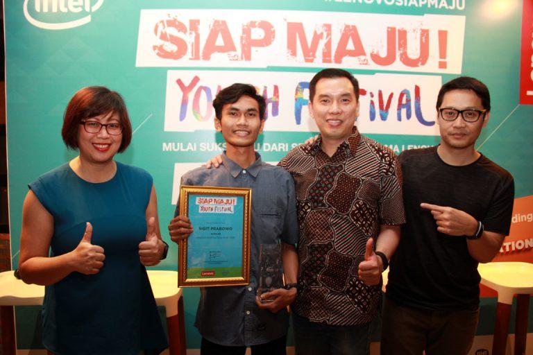 Sigit Prabowo Berhasil Menjadi Pemenang di Lenovo Inspiration Hunt 2016