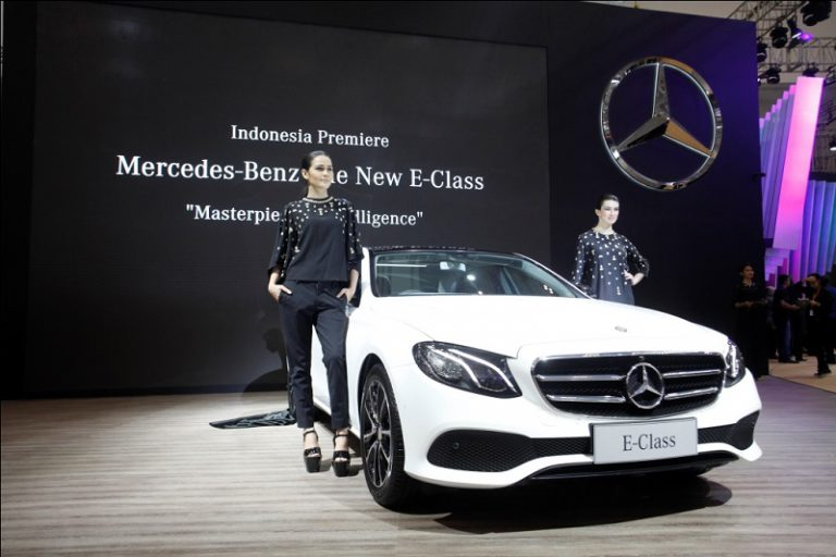 Hadir di GIIAS 2016, Ini Catatan Terbaik Mercedes-Benz