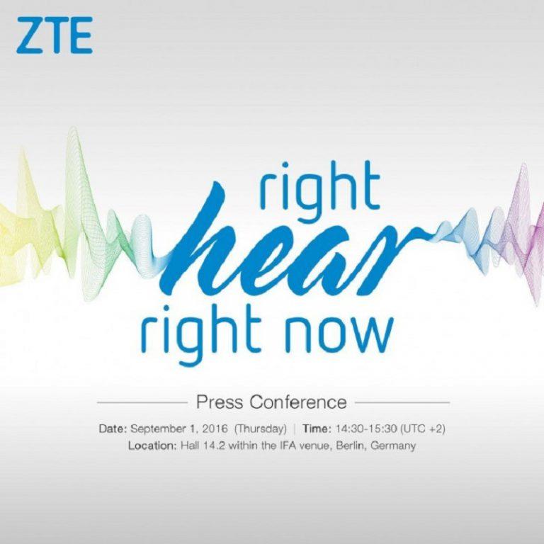 Ramaikan IFA 2016, ZTE Umumkan Pemasaran Axon 7 di Jerman?