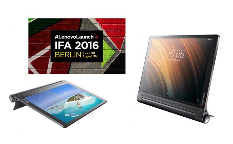 Tablet Android Premium Lenovo akan Semarakkan IFA 2016