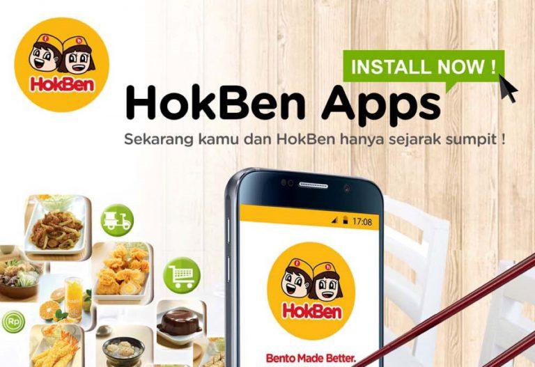 HokBen Luncurkan Aplikasi Pesan-Antar dari Smartphone