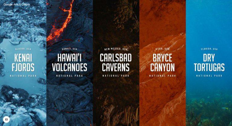 National Park di AS Jadi Koleksi Baru Tur Virtual 360 Derajat Google