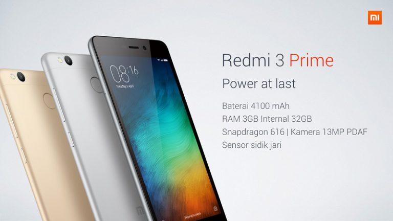 Xiaomi Pasarkan Redmi 3 Prime di Indonesia, Berapa Harganya?