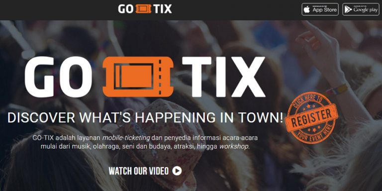 Manjakan Pengguna, GO-TIX Hadir dengan Versi Terbaru
