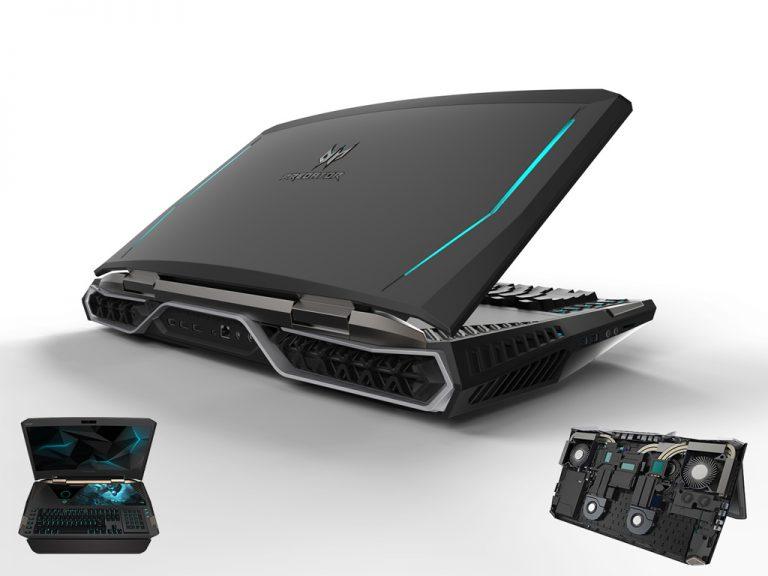 Acer Predator 21 X: Laptop Gaming Pertama dengan Layar Lengkung Hadir di Ajang IFA 2016