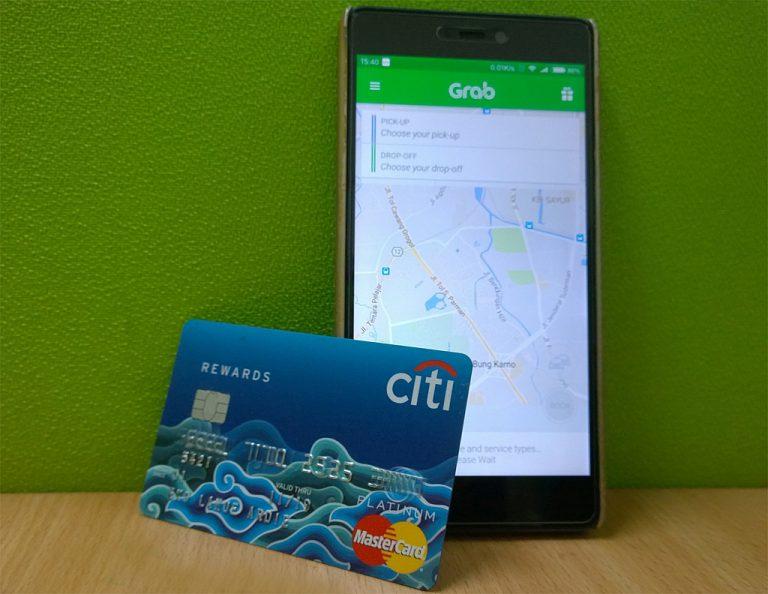 Pertama di Asia, Bayar Grab dengan Poin Kartu Kredit Citibank