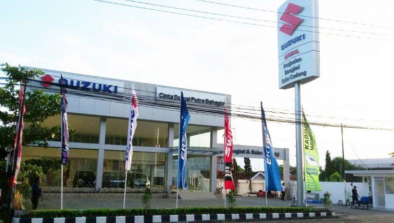 Cinta Damai Putra Bahagia, Outlet Baru Suzuki di Majalengka yang Usung Fasilitas 3S