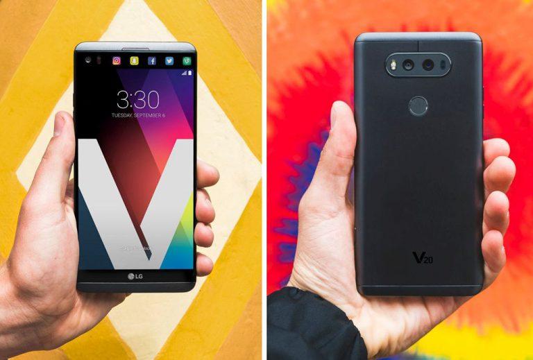 Pertama dengan Android 7.0 dan Hi-Fi Quad DAC Audio 32 bit, LG V20 Resmi Diluncurkan