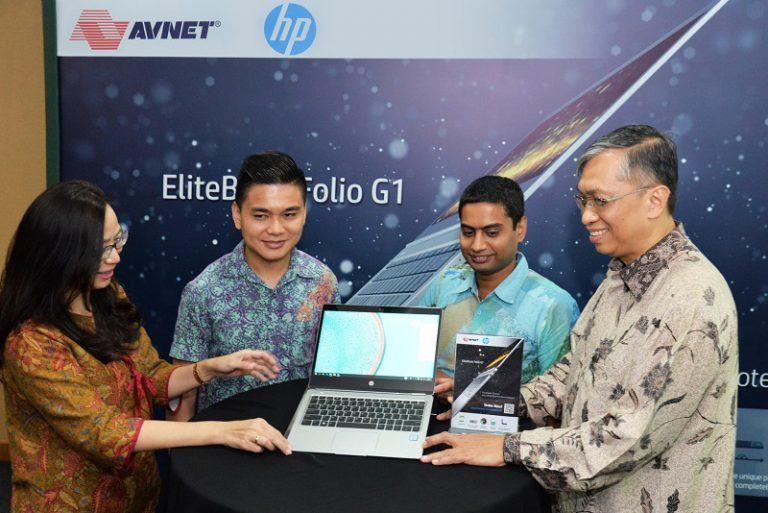 Avnet Dipercaya HP untuk Distribusikan EliteBook Folio G1