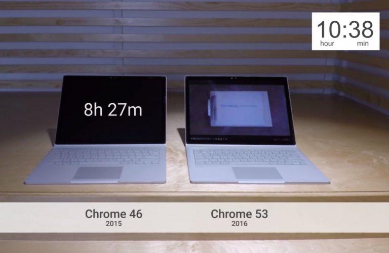 Tidak Ingin Dijuluki Browser Boros Baterai, Google Pamerkan Efisiensi Chrome 53 Terbaru