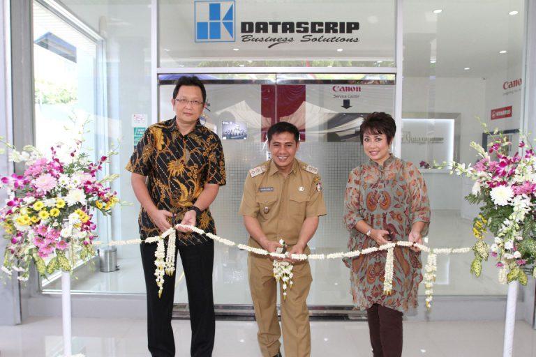 Puaskan Pelanggan, Datascrip Buka Showroom Kantor Penjualan Cabang di Makassar