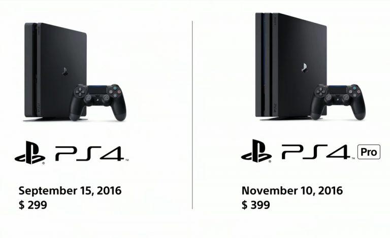 Sony Umumkan PS4 Pro dengan Performa Lebih Cepat Serta Dukungan 4K dan HDR