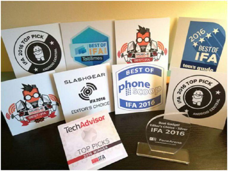 Huawei Sabet 20 Penghargaan di IFA 2016