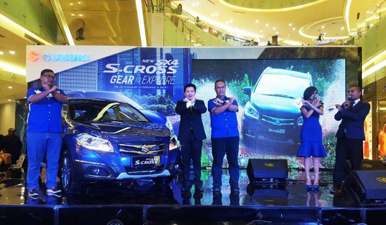 Perlihatkan Keunggulannya, Suzuki Pamerkan New SX4 S-Cross di 15 Kota di Indonesia