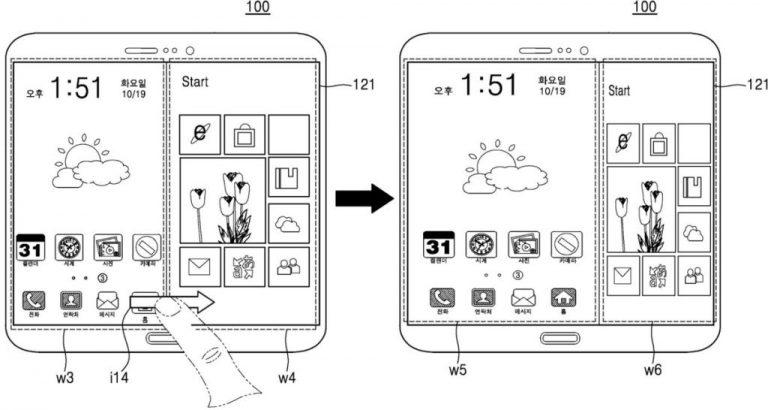 Samsung Patenkan Smartphone Hybrid dengan Dual OS