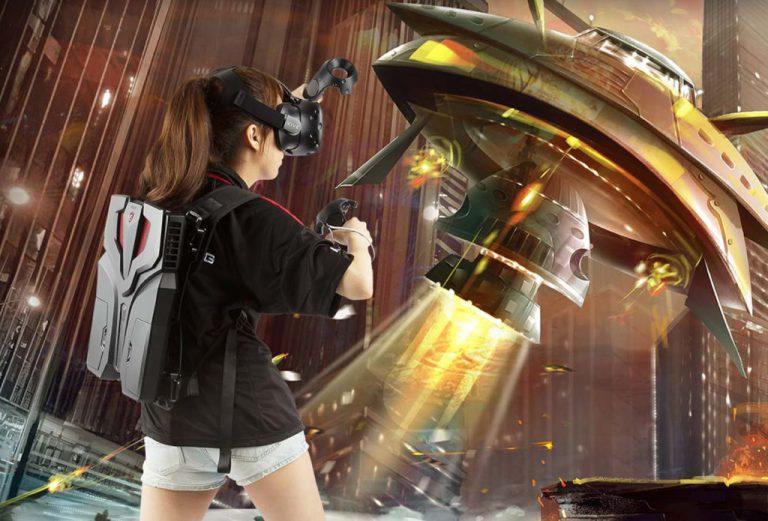 MSI Bersiap Luncurkan 'PC Ransel' untuk VR Gaming