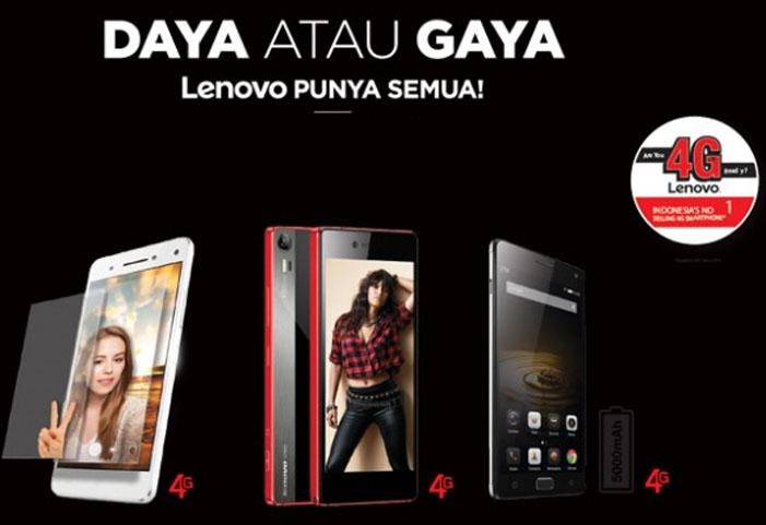 Yuk, yang Butuh Daya dan Gaya, Smartphone Lenovo Punya Semuanya