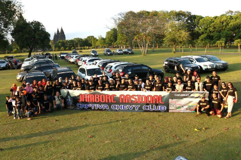 Jambore Nasional Captiva Chevy Club (3C) Sukses Dihadiri Lebih 400 Peserta