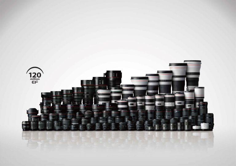Canon Catat Rekor, Berhasil Capai Produksi 120 Juta Lensa EF