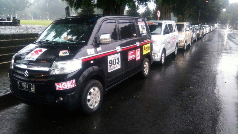 Indonesia APV Club Lakukan Touring untuk Jambore Nasional ke Daerah Wonosobo