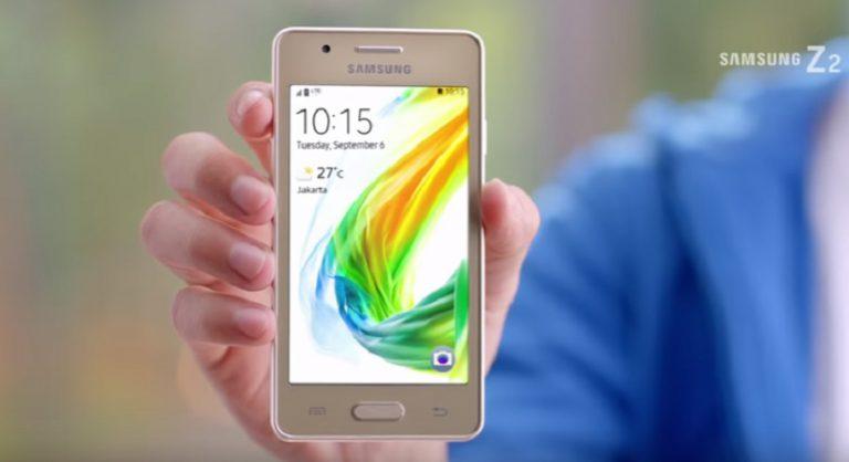 Samsung Jual Z2 Berbasis Tizen di Indonesia, Harganya?