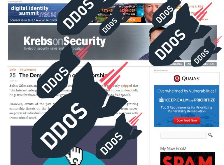 KrebsonSecurity Jadi Target Serangan DDos Terbesar. Lampu Kuning akan Bahaya IoT?