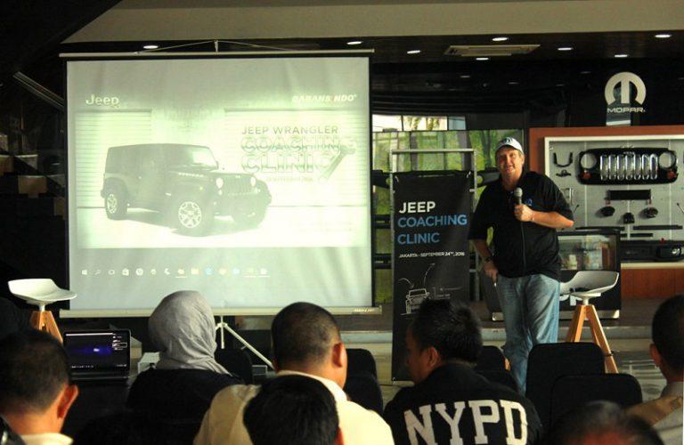 Garansindo Gelar Coaching Clinic Eksklusif untuk Pemilik Jeep Wrangler