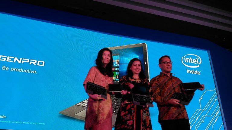 Produsen Smartphone Evercoss Luncurkan 2 in 1 PC untuk Pelajar, GENPRO