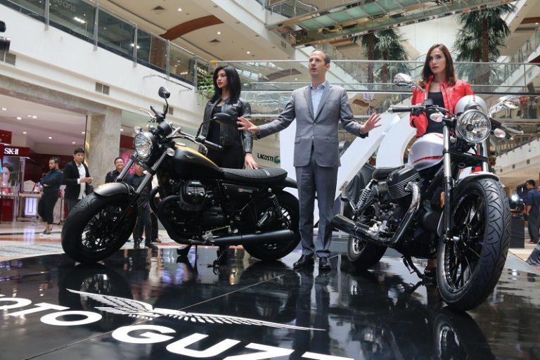 PID Boyong Dua Moto Guzzi V9 untuk Konsumennya di Indonesia
