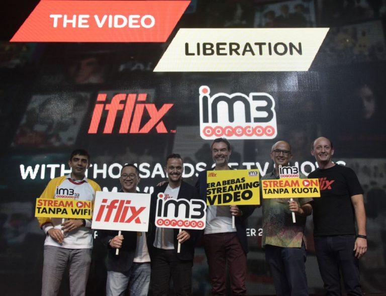 Indosat Jadi Operator Seluler Pertama 'Gratiskan' Streaming iflix Bagi Pelanggannya