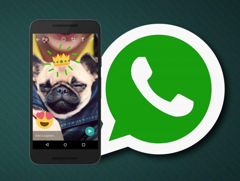 Tidak Mau Kalah dari Snapchat dan Telegram, WhatsApp Terbaru Juga Bisa 'Doodling' Foto dan Video