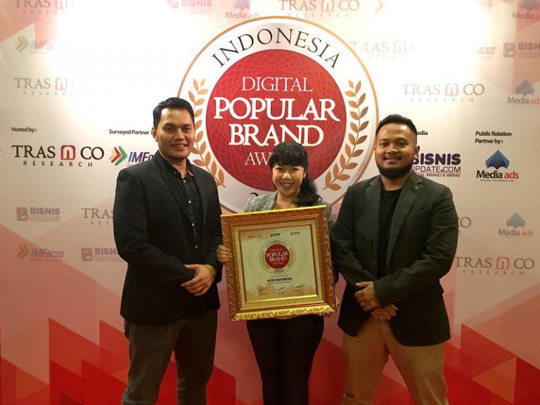 Acer Raih Penghargaan Indonesia Digital Popular Brand Award 2016
