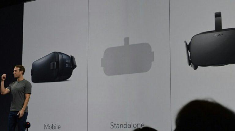 Mark Zuckerberg Janjikan Headset VR Oculus Rift yang Mandiri dari PC