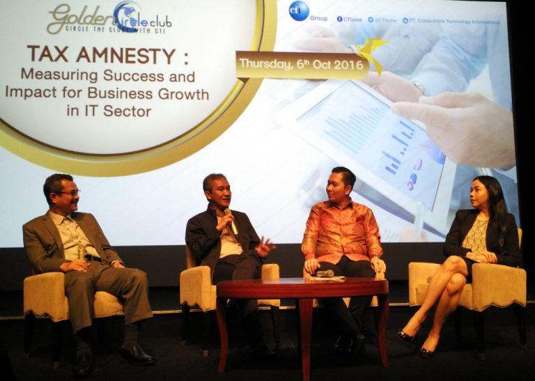 Dampak Amnesti Pajak bagi Industri TI Jadi Tema Diskusi Golden Circle Club Meeting