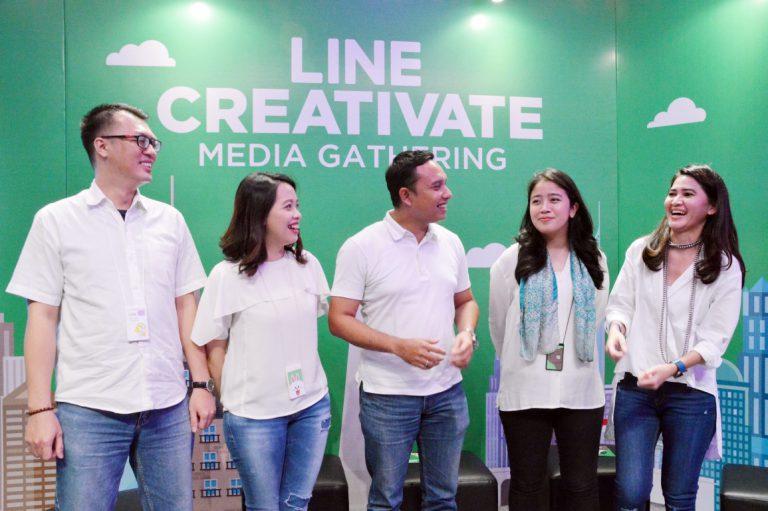 Ajak Bekraf, LINE Gelar Ajang Kompetisi LINE Creativate 2016