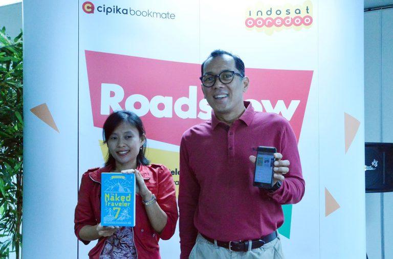Cipika Bookmate ingin Tumbuhkan Minat Baca Masyarakat