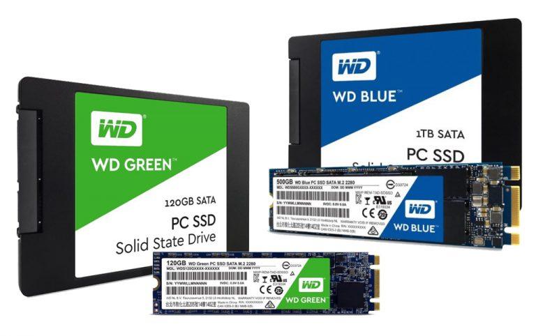 Masuk Pasar Konsumen, Western Digital Perkenalkan SSD WD Blue dan WD Green