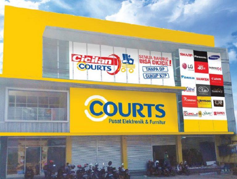 Ramaikan Pasar Retail Indonesia, Courts Buka Dua Toko Baru