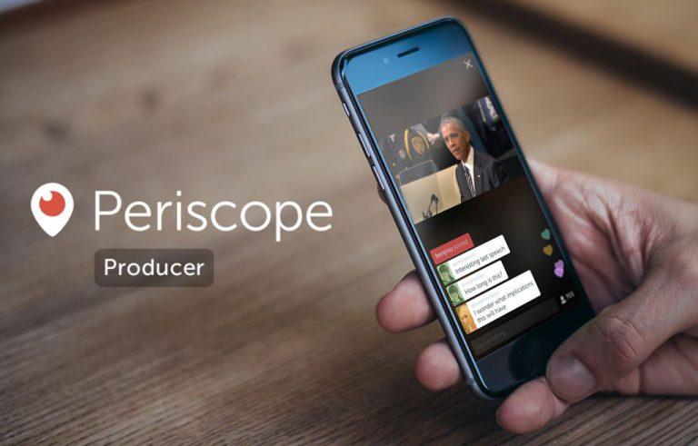 Perkenalkan Periscope Producer! Cara Baru bagi Pengguna Twitter untuk Broadcast Video Secara Profesional