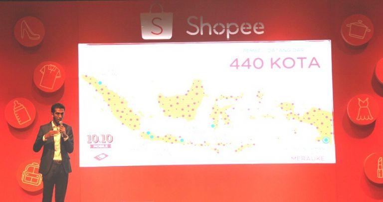 Transaksi Meningkat, Pembeli Shopee 10.10 Mobile Shopping Day Ada di 440 Kota