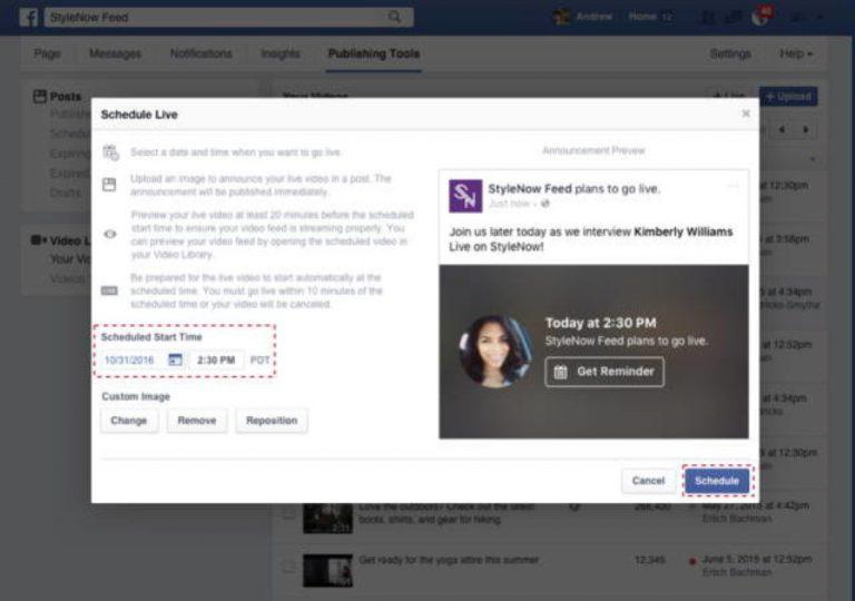 Facebook Kembangkan Facebook Live Agar Bisa Dijadwalkan Terlebih Dahulu