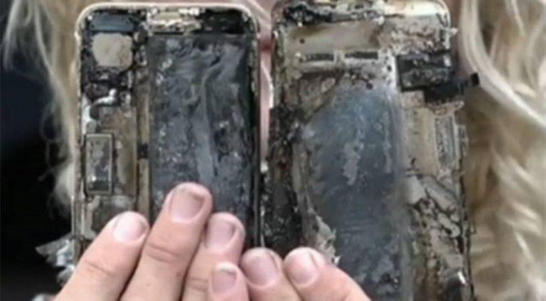 Terjadi Lagi, iPhone 7 Meledak dan Membuat Kerusakan di Dalam Mobil