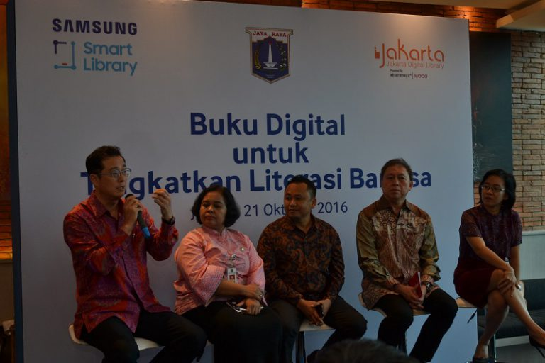 """Samsung Hadirkan """"Perpustakaan Digital"""" untuk Dukung Minat Baca Masyarakat"""