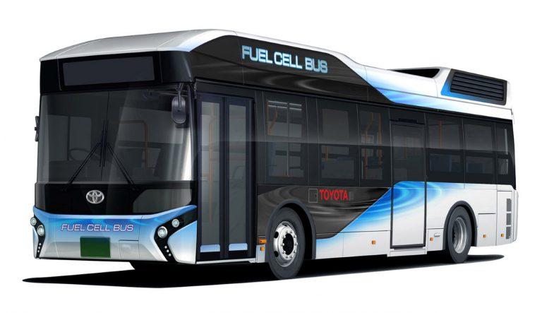 Toyota Perkenalkan Bus Hidrogen yang Dapat Difungsikan Sebagai Generator Darurat