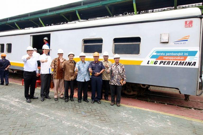 Pertama di Asia, Kereta Api Berbahan Bakar LNG Hasil Kolaborasi Pertamina dan KAI