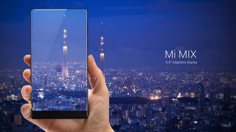 Xiaomi Perkenalkan Mi Mix, Smartphone dengan Desain Indah, Bingkai Super Tipis