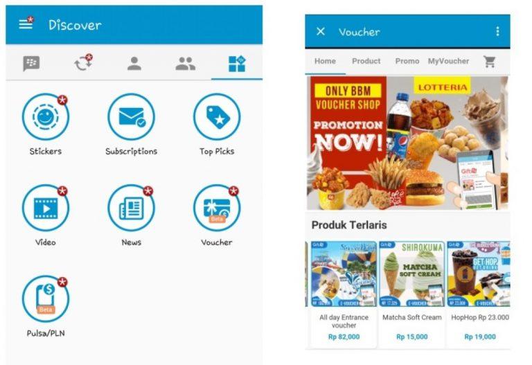 BBM Voucher, Fitur Baru dari BBM untuk Manjakan Pelanggan di Indonesia