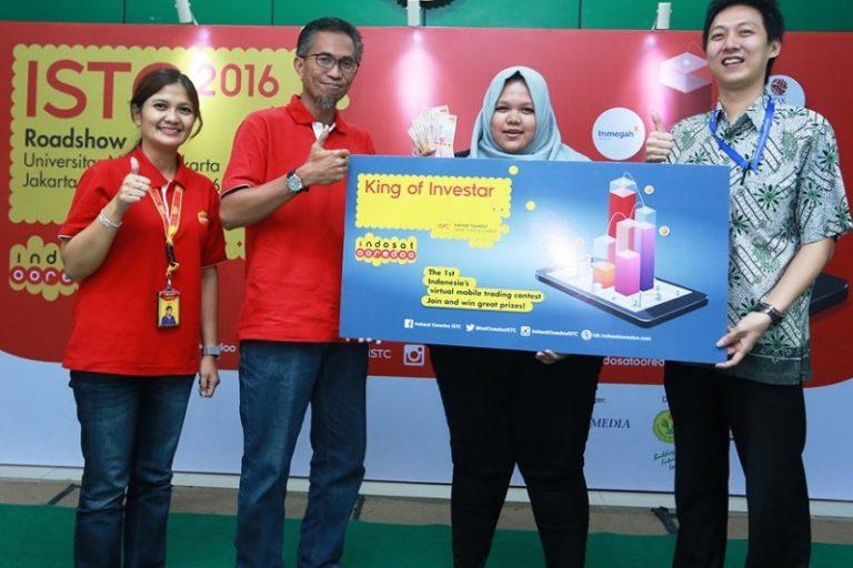Kompetisi Stock Trading Besutan Indosat Ooredoo Raih Animo Tinggi dari Peserta Roadshow